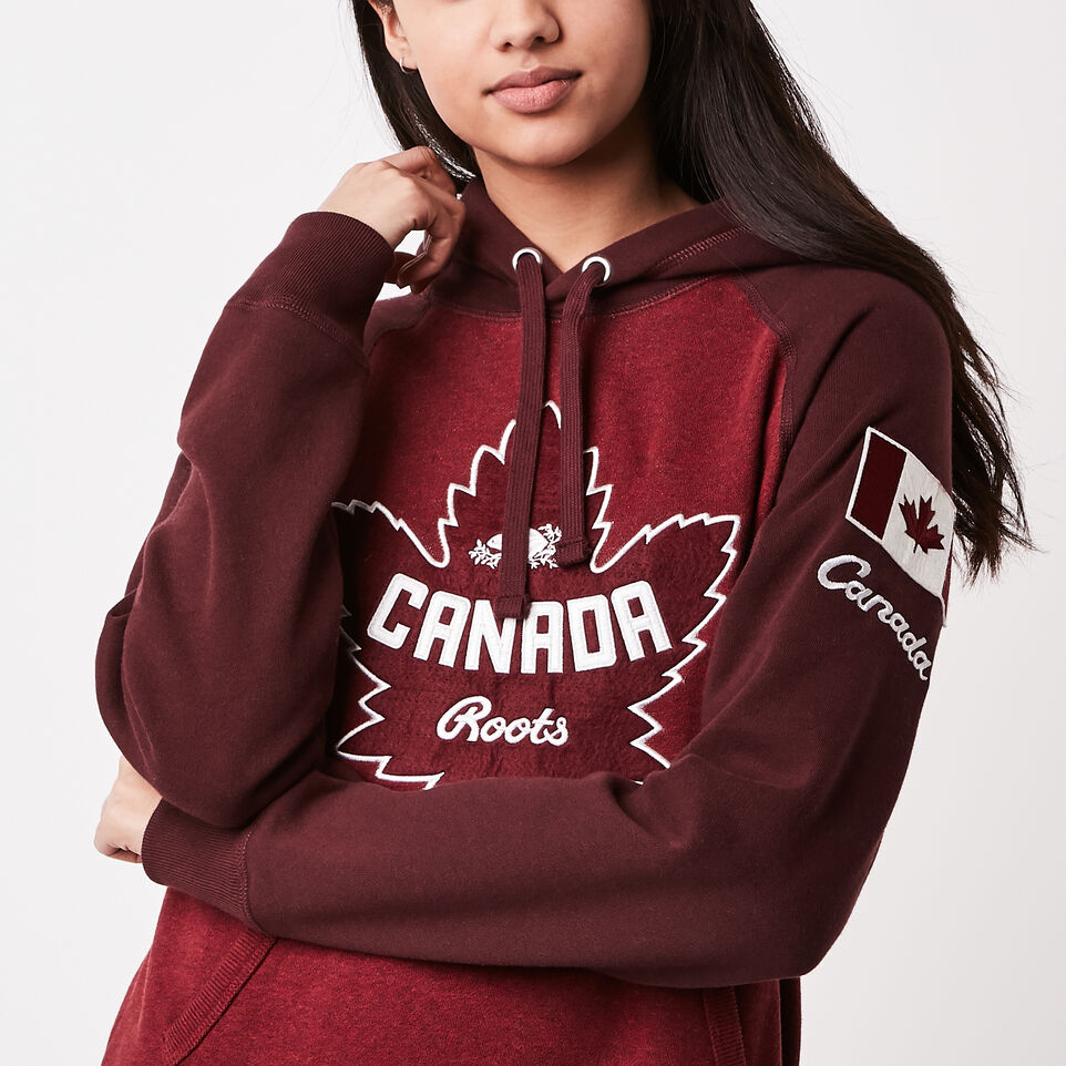 Roots-undefined-Womens Heritage Canada Kanga Hoody-undefined-C