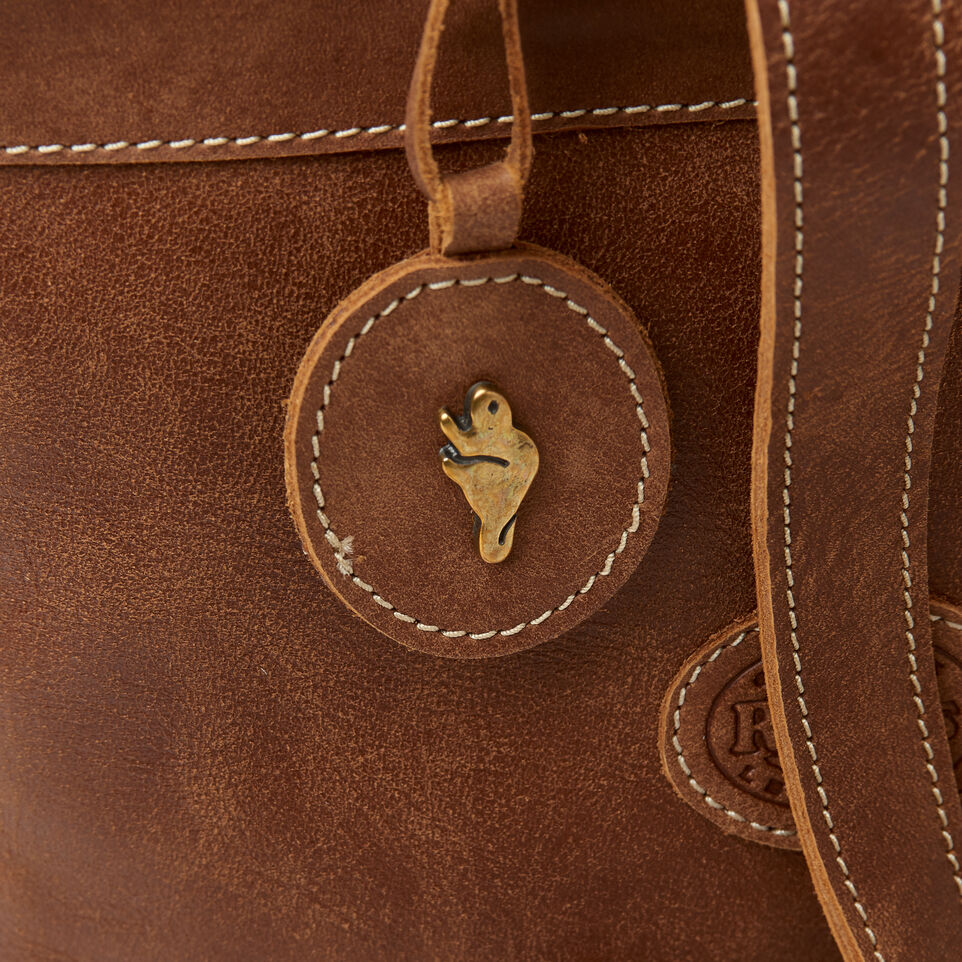 Roots-Leather New Arrivals-Little Nells Backpack-Natural-D