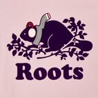 Roots-Kids New Arrivals-Girls Buddy Raglan T-shirt-Grape Royale Pepper-D