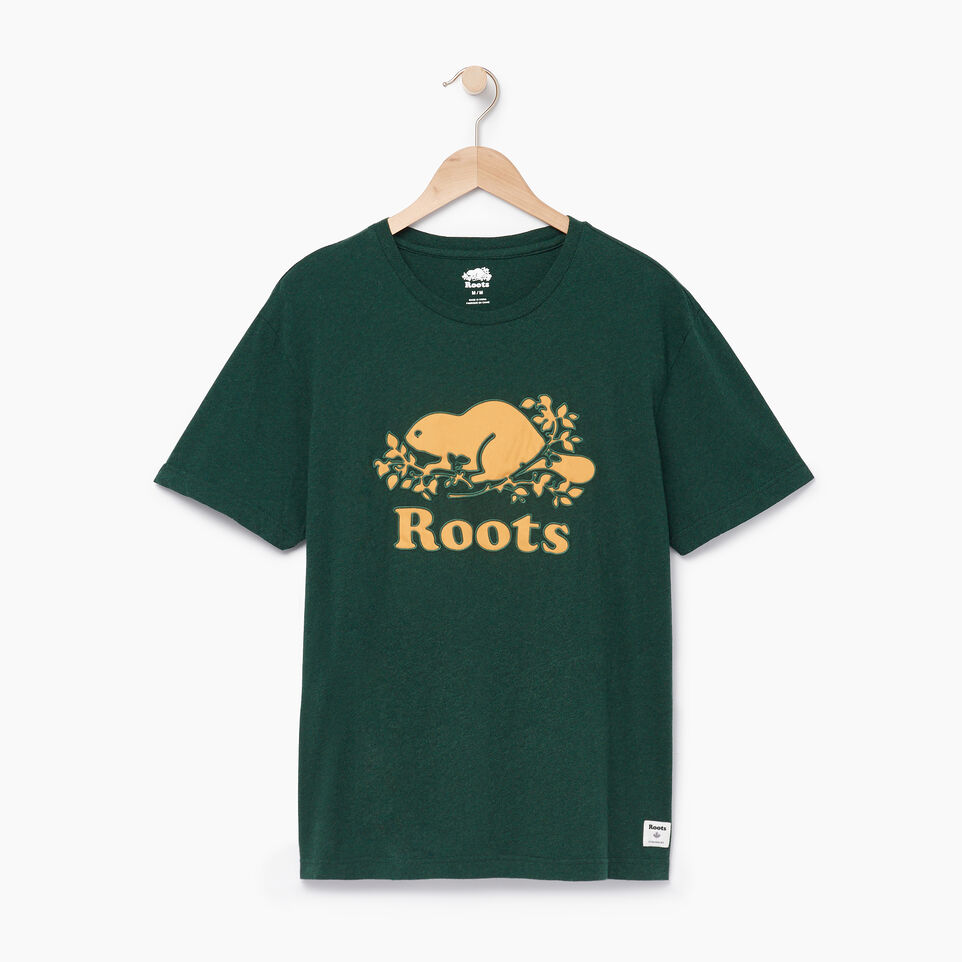 Roots-undefined-Mens Cooper Twill T-shirt-undefined-A