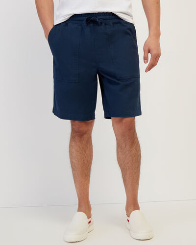 Roots-New For This Month Journey Collection-Journey Short 9.5 In-Cascade Blue-A