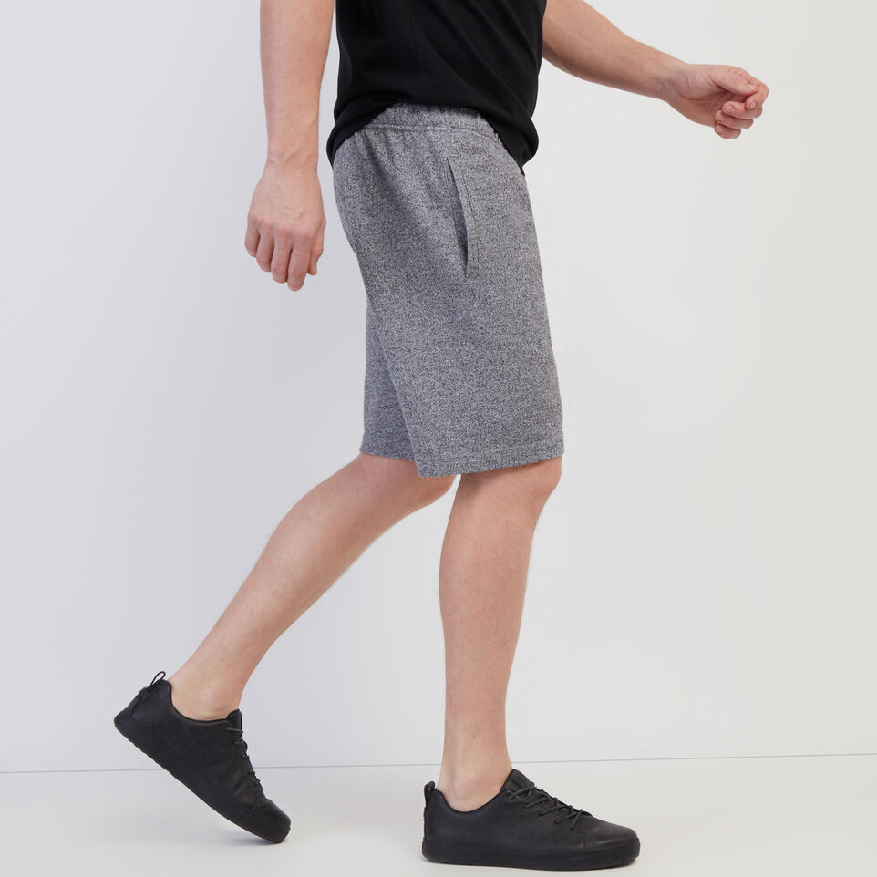 Roots-Men New Arrivals-Original Sweatshort-Salt & Pepper-C