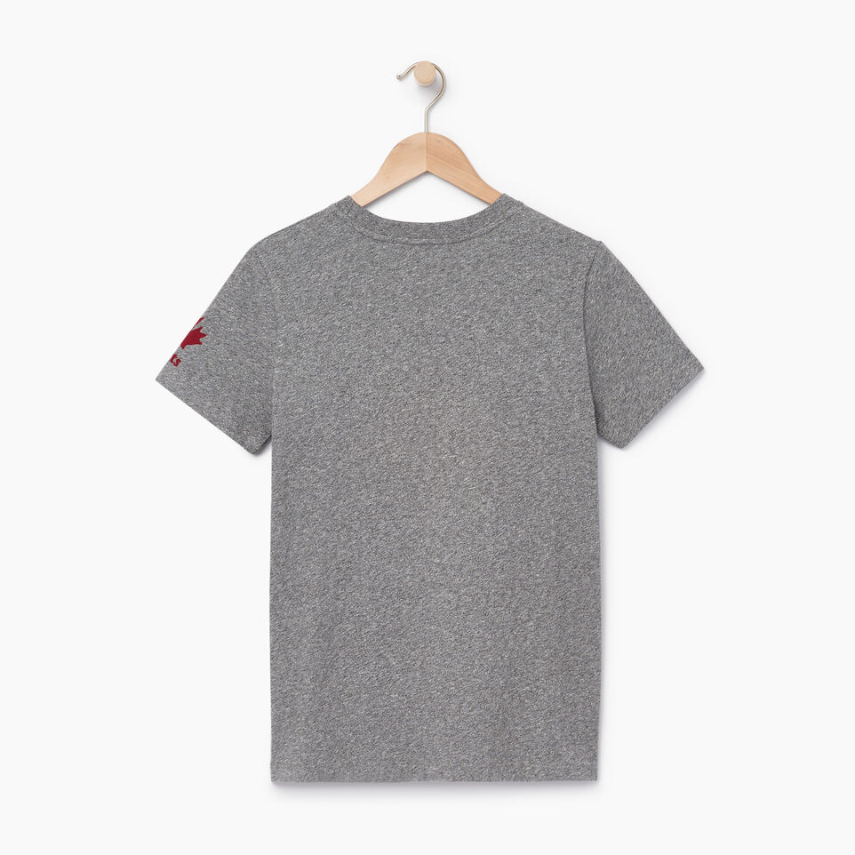 Roots-New For June Canada Collection By Roots™-Womens Roots Canada T-shirt-Grey Mix Pepper-B