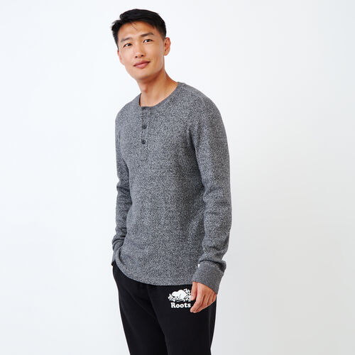 Roots-Men Bestsellers-Killarney Pepper Henley-Salt & Pepper-A