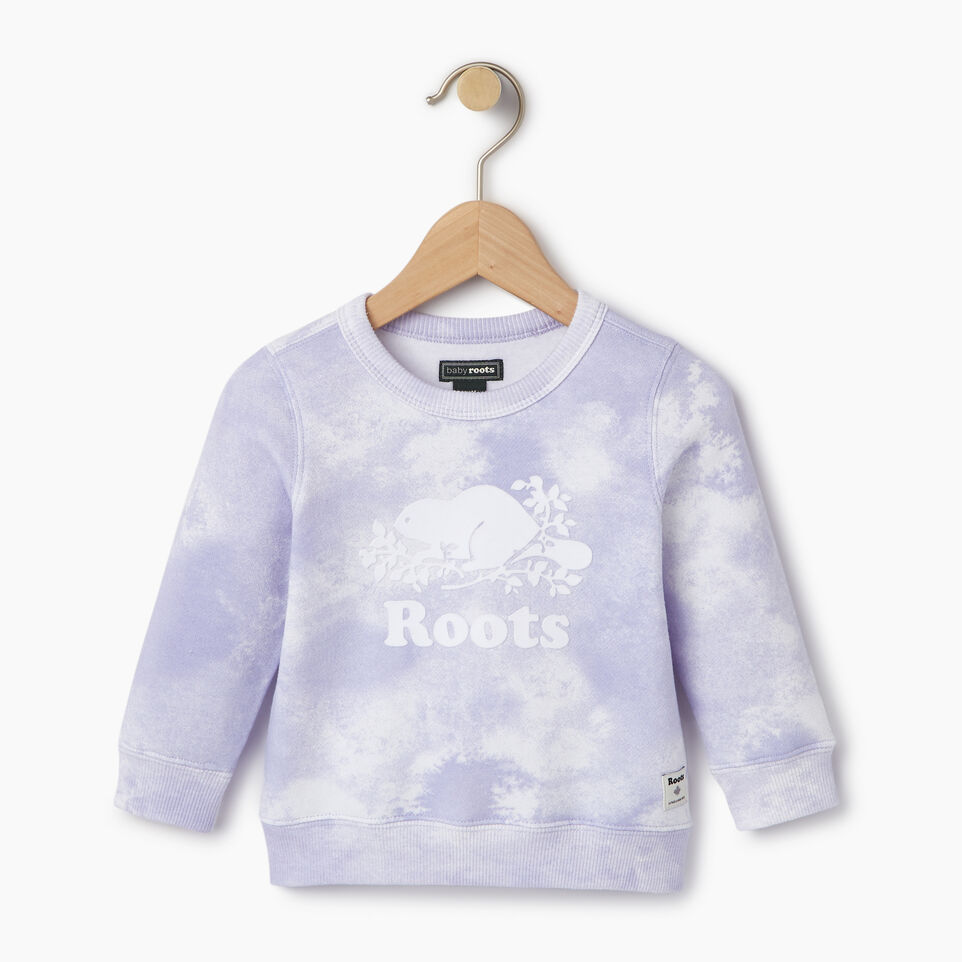 Roots-undefined-Baby Cloud Nine Crew Sweatshirt-undefined-A