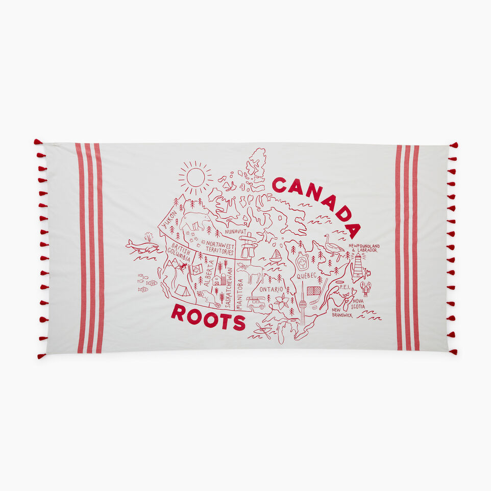 Roots-Women Our Favourite New Arrivals-Canada Sarong-Cannoli Cream-B