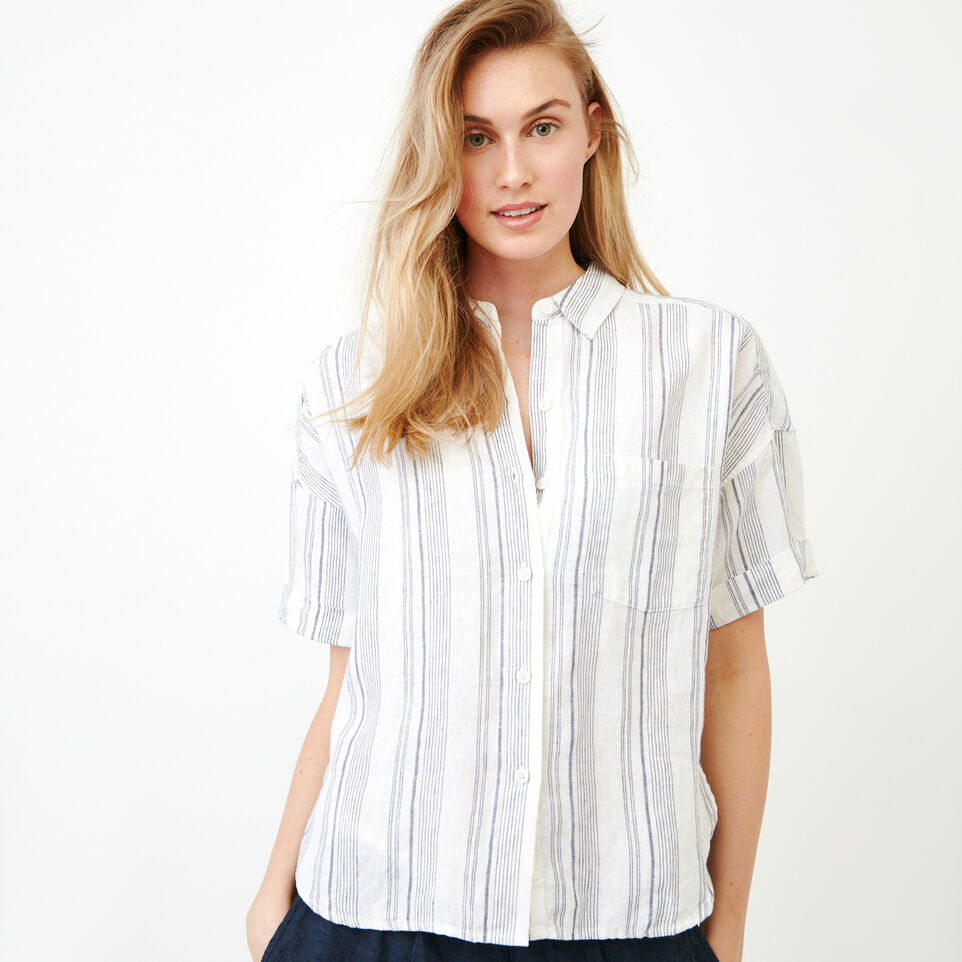 Roots-Women Our Favourite New Arrivals-Wainwright Shirt-Eclipse-A