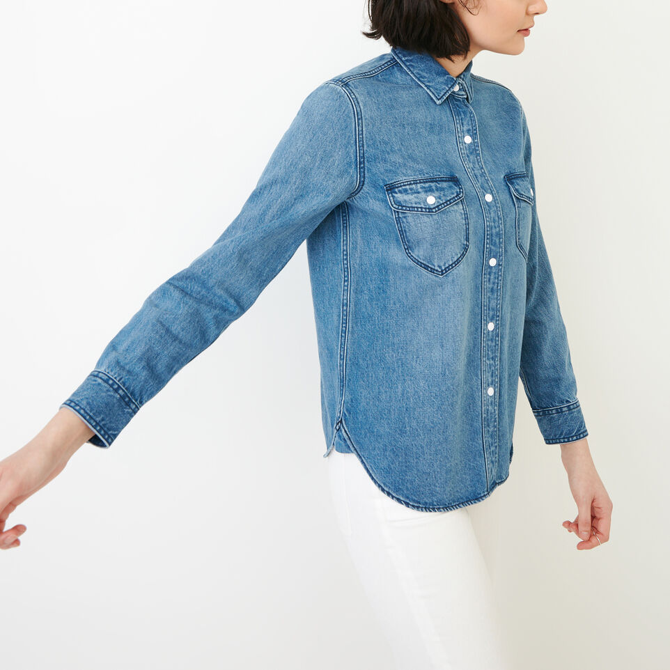 Roots-undefined-Scout Denim Shirt-undefined-C