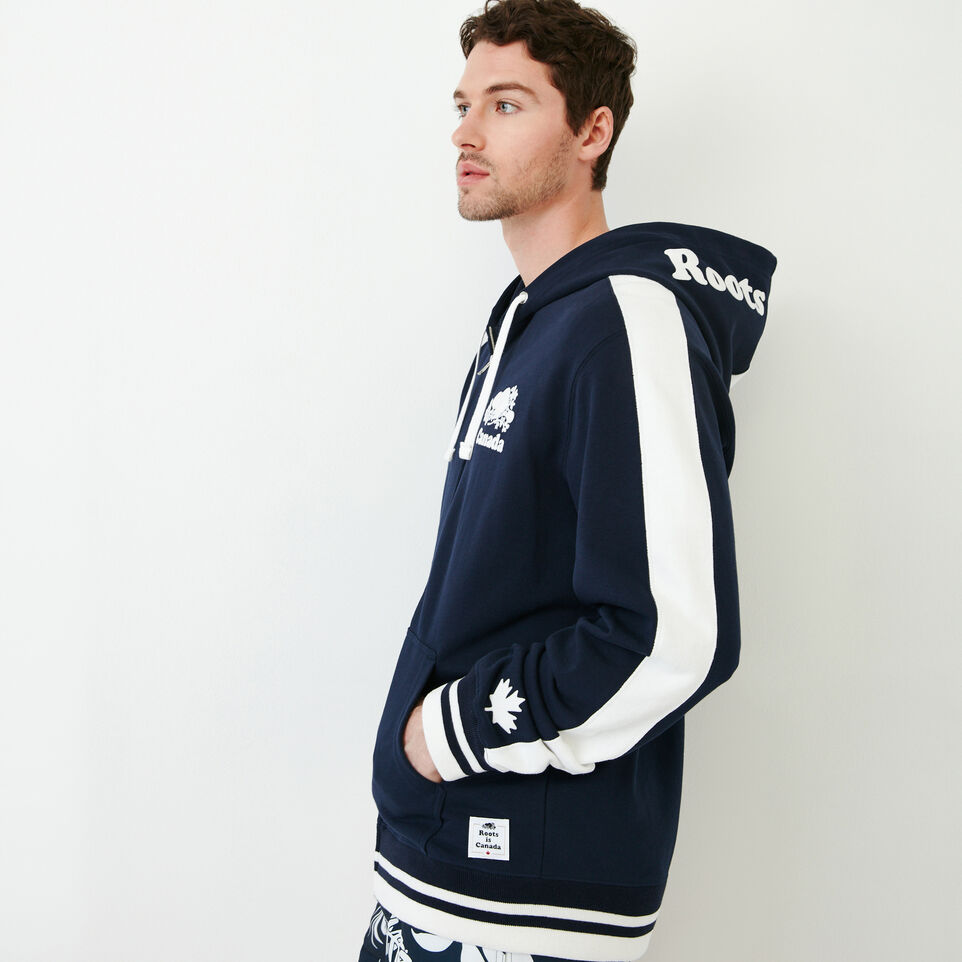 Roots-New For June Canada Collection By Roots™-Canada Zip Hoody-Navy Blazer-C