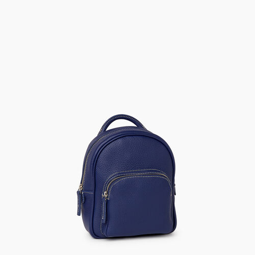 Roots-Leather City Bags-City Chelsea Pack Parisian-Sapphire-A