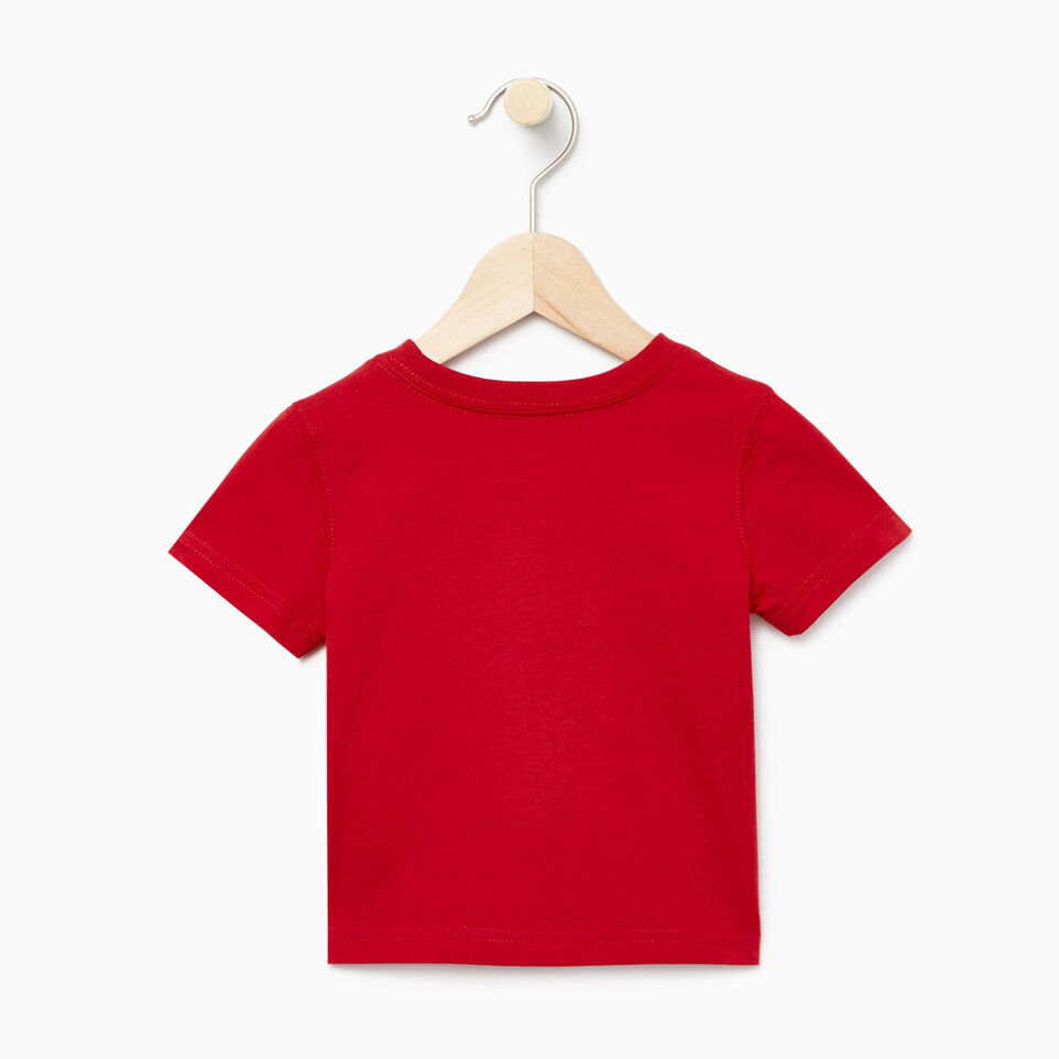 Roots-Kids Our Favourite New Arrivals-Baby Canadian Boy T-shirt-Sage Red-B