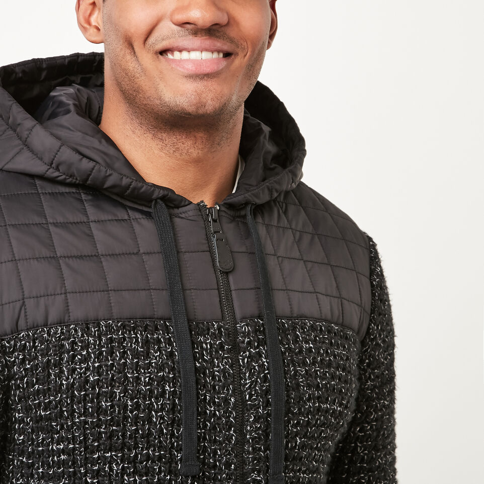 Roots-undefined-Black Fox Hybrid Hoody-undefined-D
