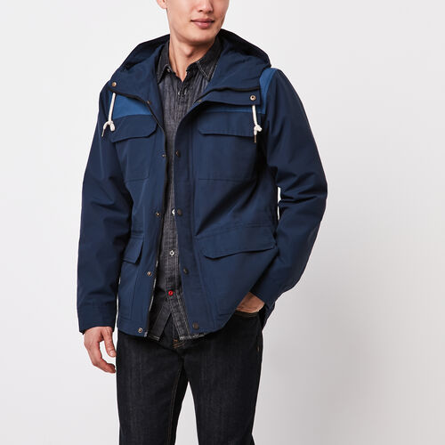 Roots-Sale Jackets & Sweaters-Nelson Mountain Parka-Cascade Blue-A