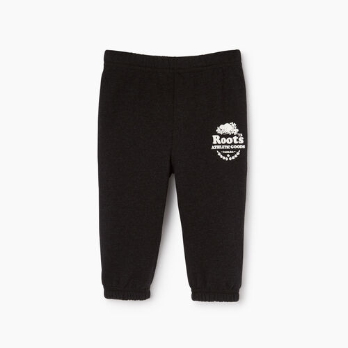 Roots-Clearance Baby-Baby Laurel Sweatpant-Black Mix-A