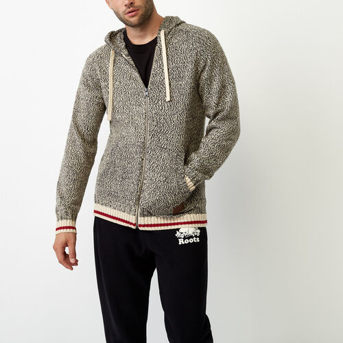 Roots-Men Our Favourite New Arrivals-Roots Cotton Cabin Hoody-Speckle-A