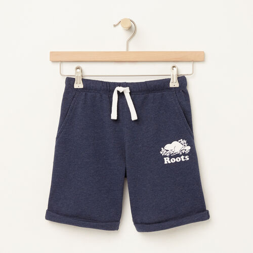 Roots-Sale Boys-Boys Jasper Short-Cascade Blue Mix-A