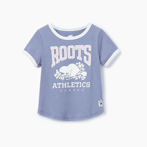 Roots-Kids Our Favourite New Arrivals-Toddler RBA Ringer T-shirt-Purple-A