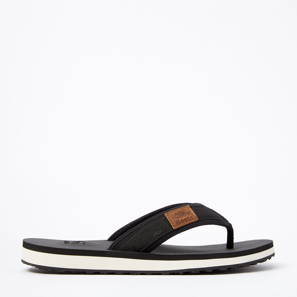 Roots-Mens Tofino Flip Flop Web