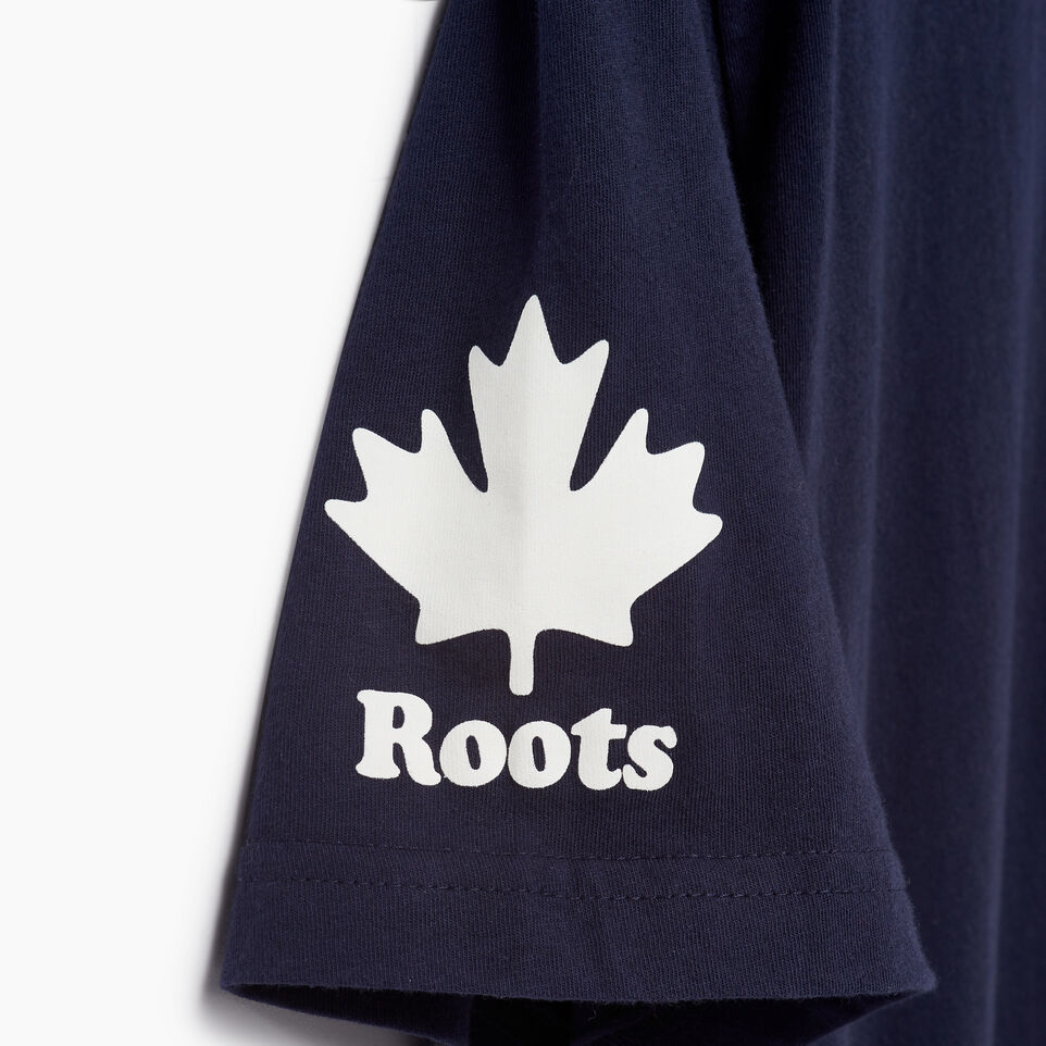Roots-Men Our Favourite New Arrivals-Mens Cooper Canada T-shirt-Navy Blazer-E