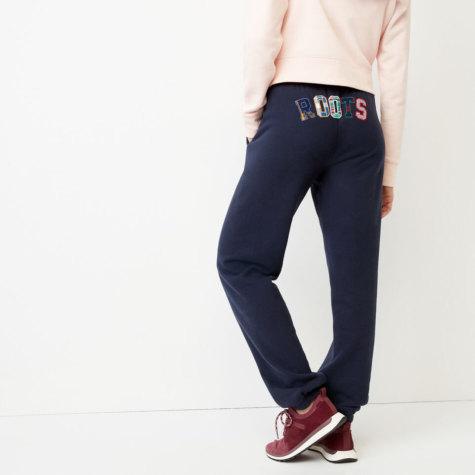 Roots-undefined-Roots Applique Sweatpant-undefined-A