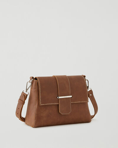 Roots-Leather Leather Bags-Phoebe Bag Tribe-Natural-A