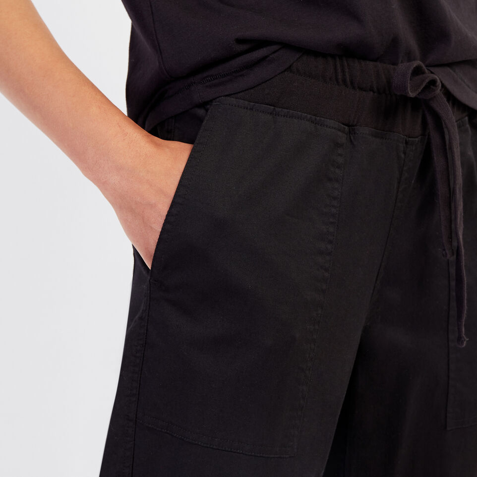 Roots-New For September Journey Collection-Journey Jogger-Black-E