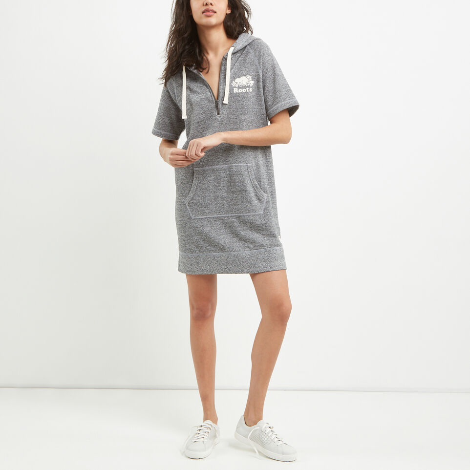 Roots-Dockside Half Zip Kanga Dress