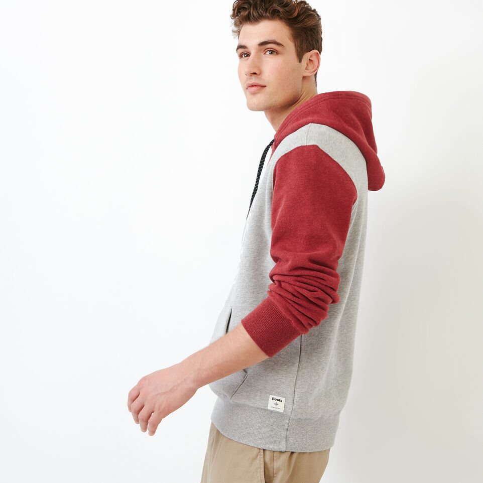 Roots-Men Our Favourite New Arrivals-Athletic Dept. Hoody-Grey Mix-C