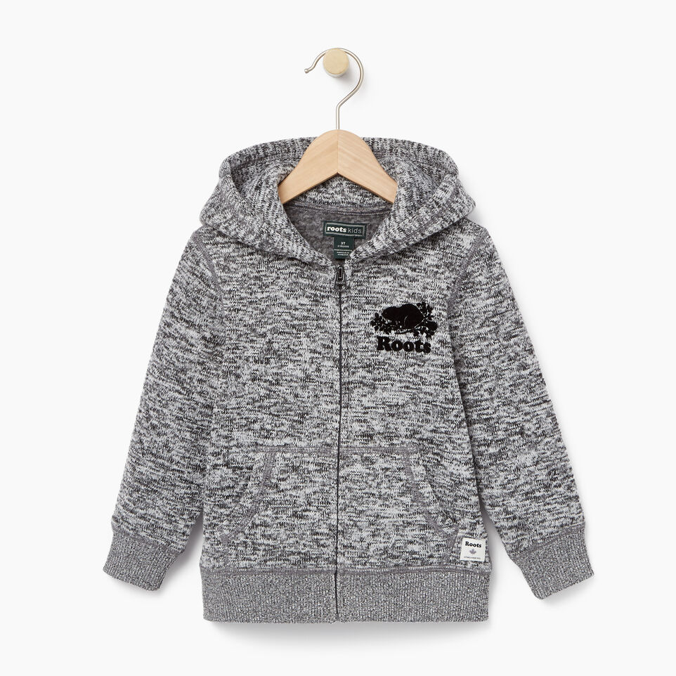 Roots-undefined-Toddler Sweater Fleece Full Zip Hoody-undefined-A
