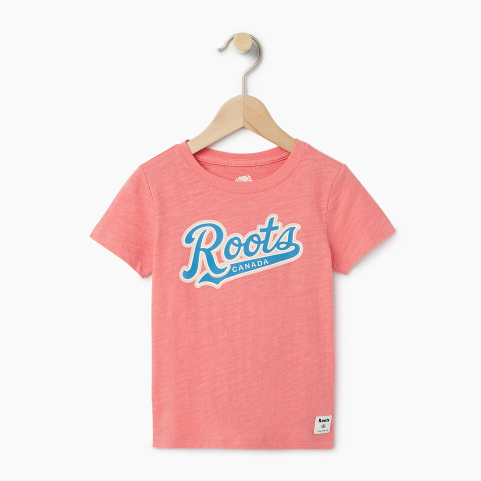 Roots-Kids Our Favourite New Arrivals-Toddler Roots Script T-shirt-undefined-A
