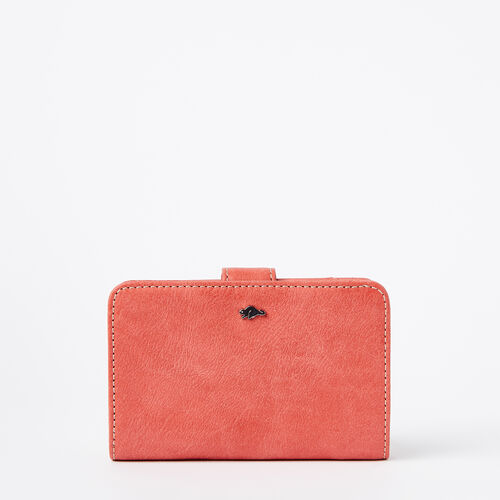 Roots-Women Wallets-Bridget Wallet Tribe-Coral-A