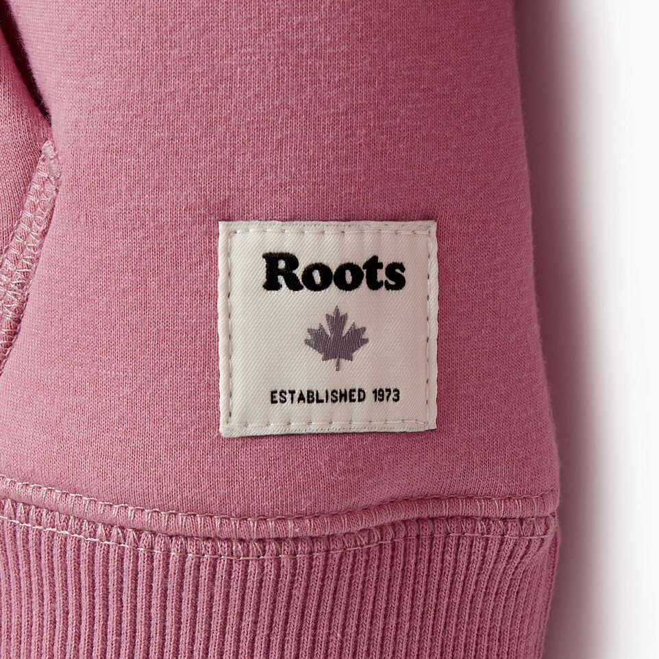 Roots-Kids New Arrivals-Girls Sherpa Lined Full Zip Hoody-Mauve Orchid-D