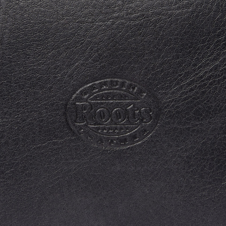 Roots-Leather  Handcrafted By Us Our Favourite New Arrivals-Carrier Pouch-Jet Black-E