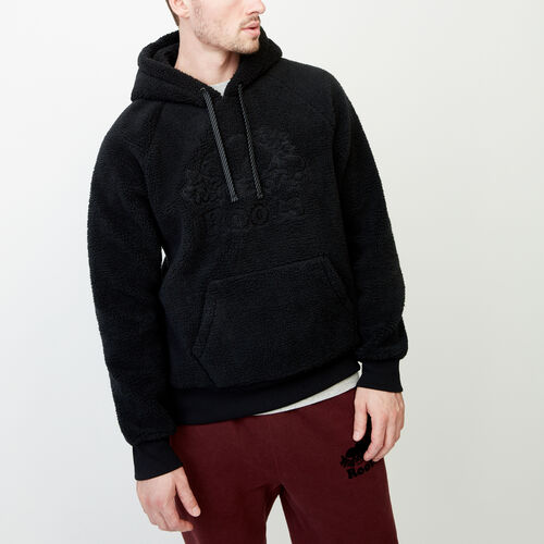 Roots-Men Our Favourite New Arrivals-Cooper Sherpa Hoody-Black-A
