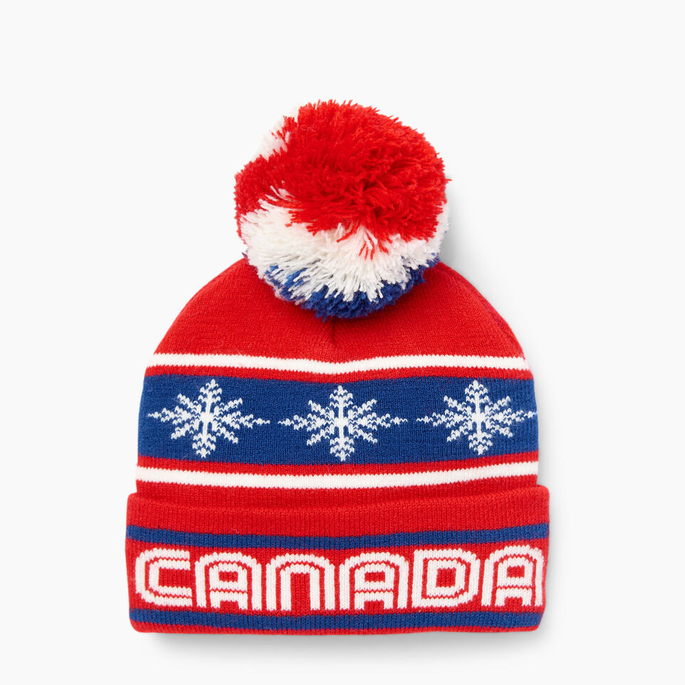 Roots-Kids Our Favourite New Arrivals-Toddler Retro Fair Isle Toque-Racing Red-B