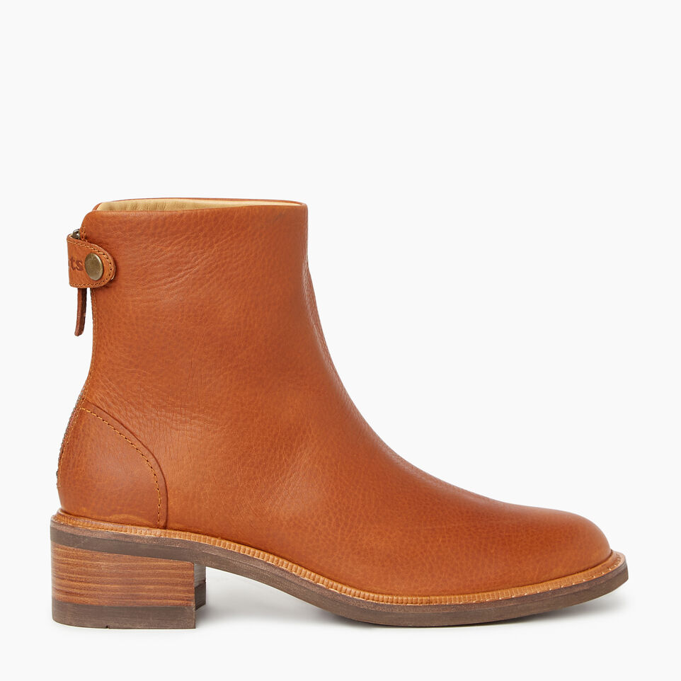 Roots-Women Clothing-Womens Hillhurst Boot-Barley-A