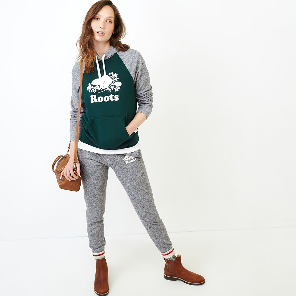 Roots-undefined-Colour blocked Kanga Hoody-undefined-B