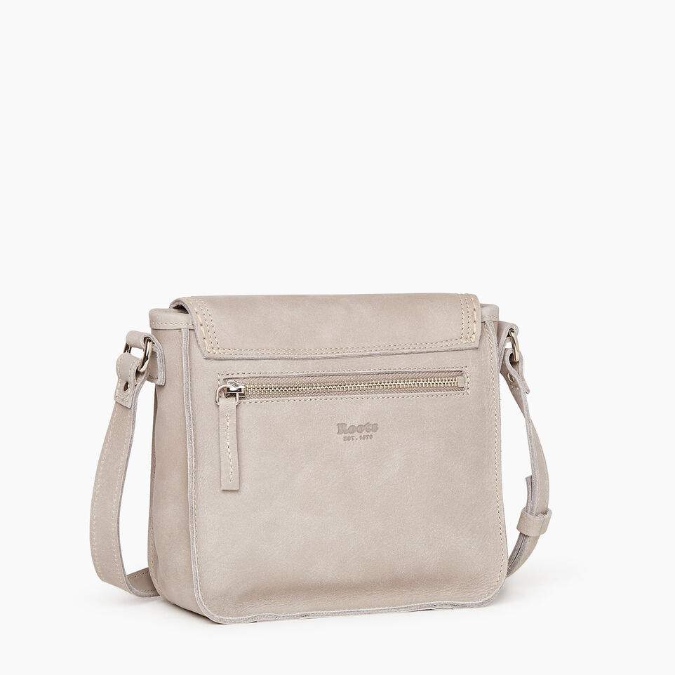 Roots-Leather New Arrivals-Canmore Crossbody Tribe-Sterling Grey-C