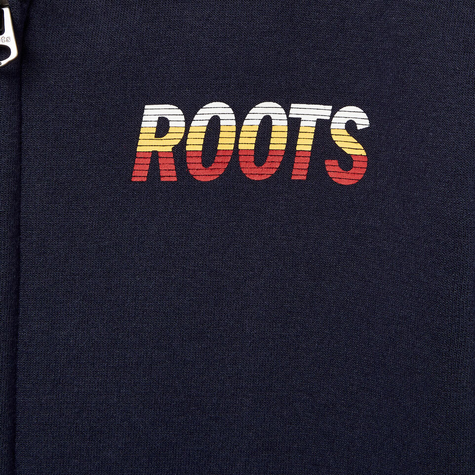 Roots-Kids Boys-Boys Roots Speedy Full Zip Hoody-Navy Blazer-D