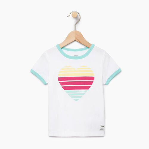 Roots-Clearance Kids-Toddler Heart Ringer T-shirt-Ivory-A