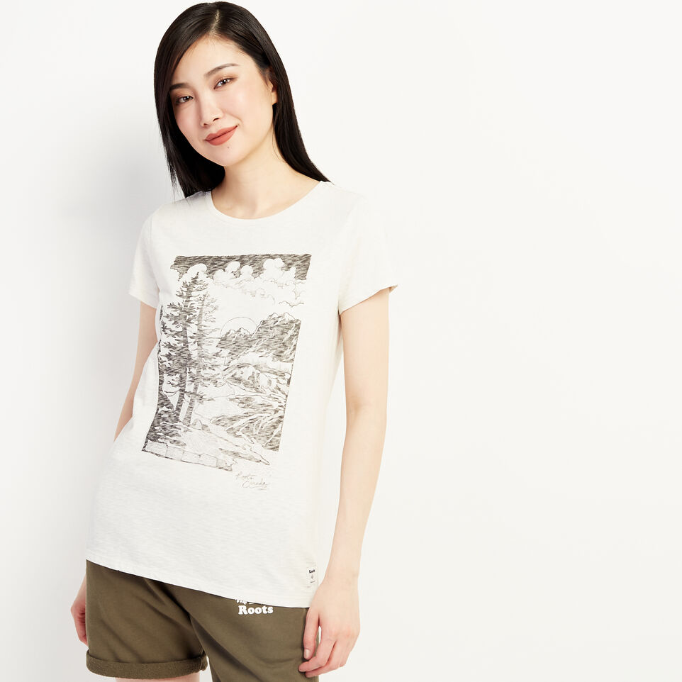 Roots-undefined-Womens Huxley Boyfriend T-shirt-undefined-B