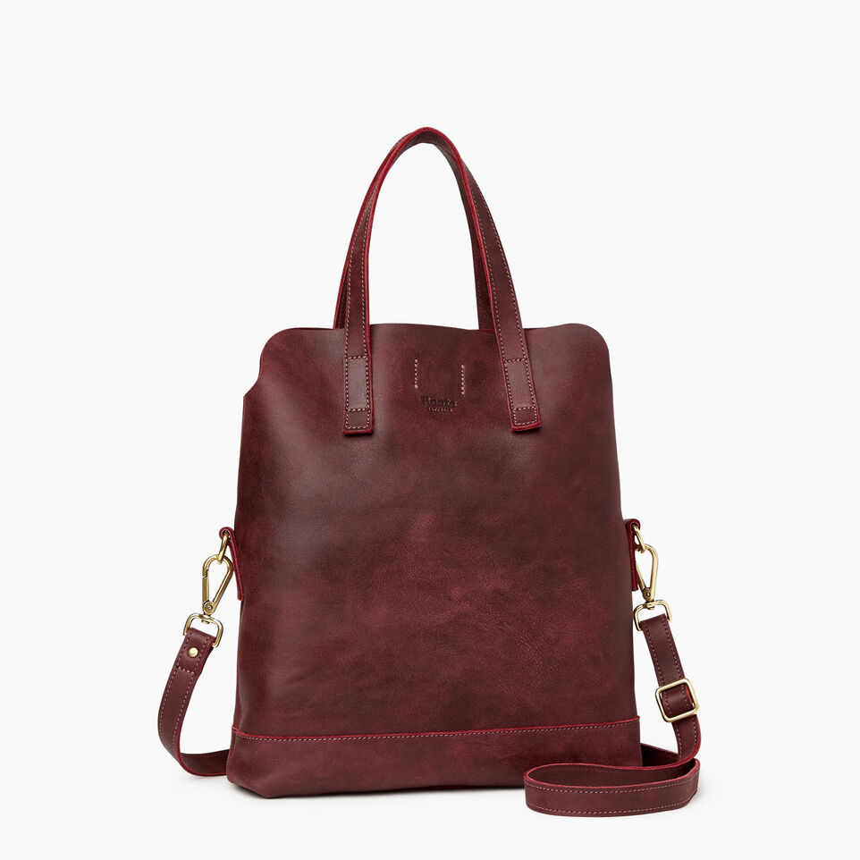 Roots-Leather Our Favourite New Arrivals-Junction Foldover-Crimson-C