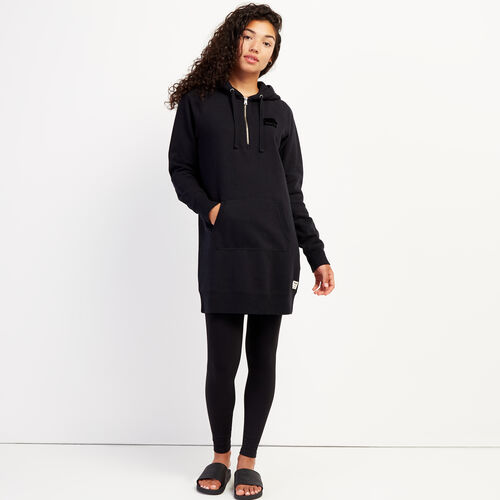 Roots-Women Dresses & Jumpsuits-Dockside Longsleeve Dress-Black-A