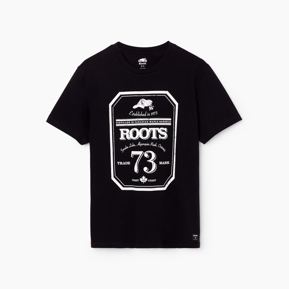 Roots-undefined-Mens Roots Label T-shirt-undefined-A
