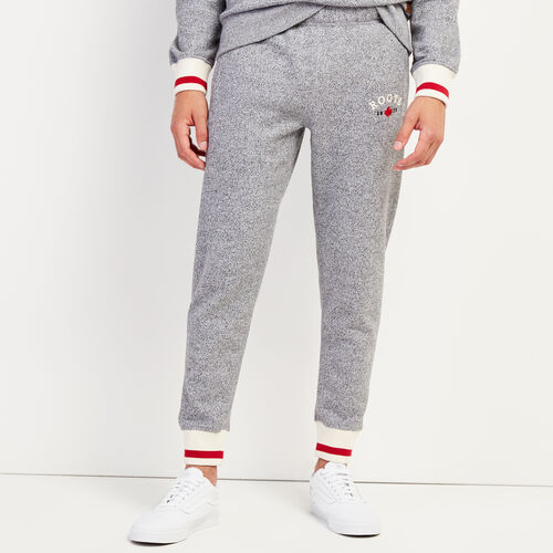 Roots-Gifts Cabin Comfort-Cabin Slim Sweatpant-Salt & Pepper-A