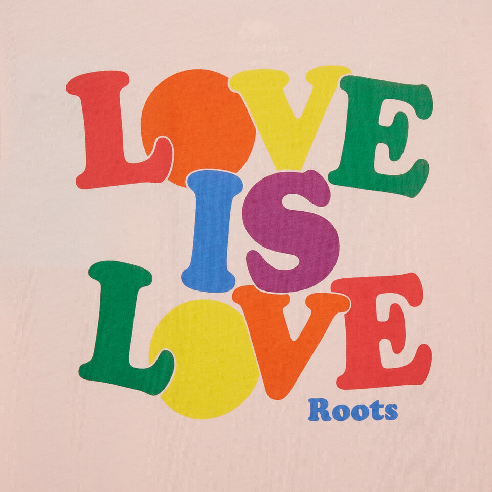 Roots-Kids New Arrivals-Girls Roots Pride T-shirt-English Rose-E