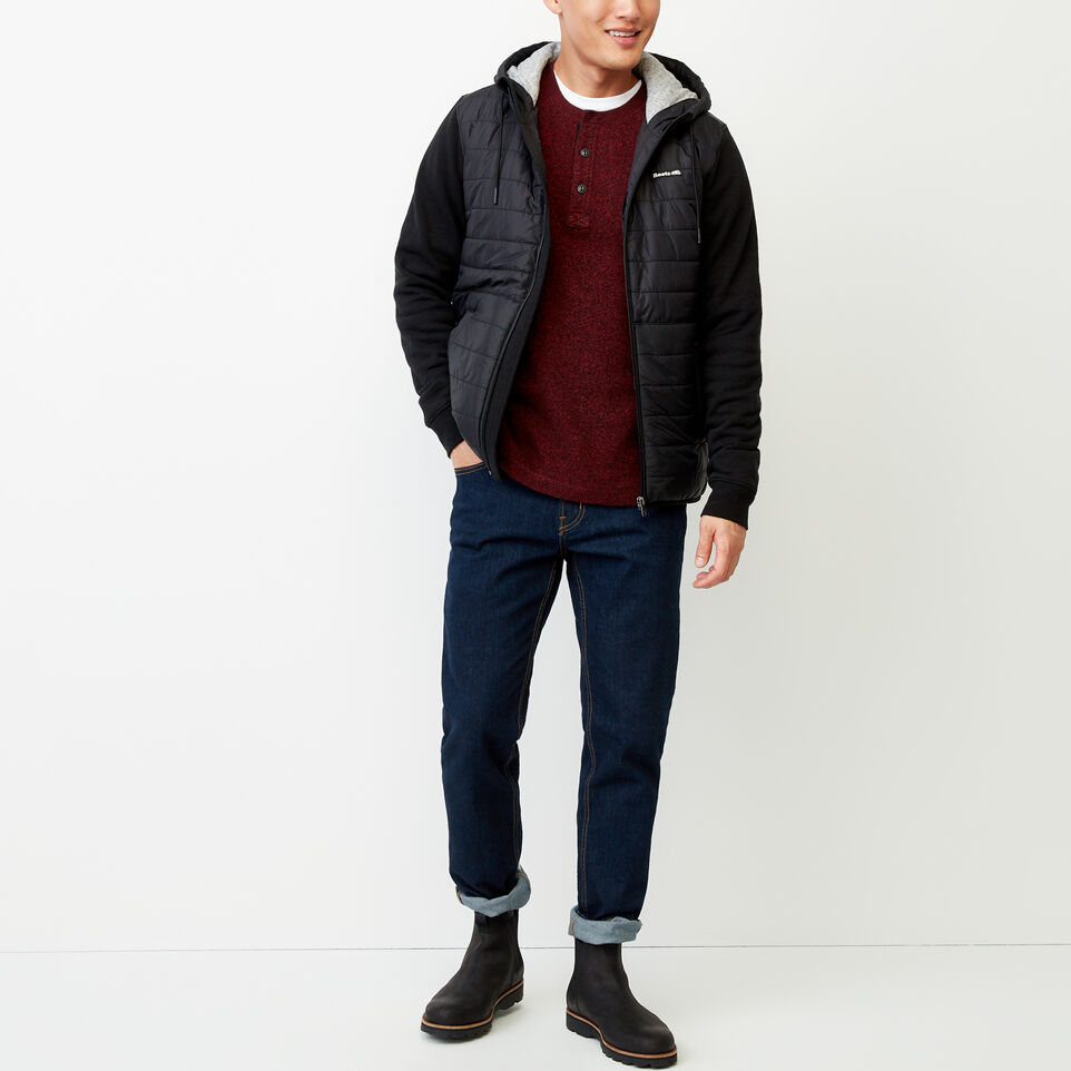 Roots-undefined-Roots Hybrid Hooded Jacket-undefined-B