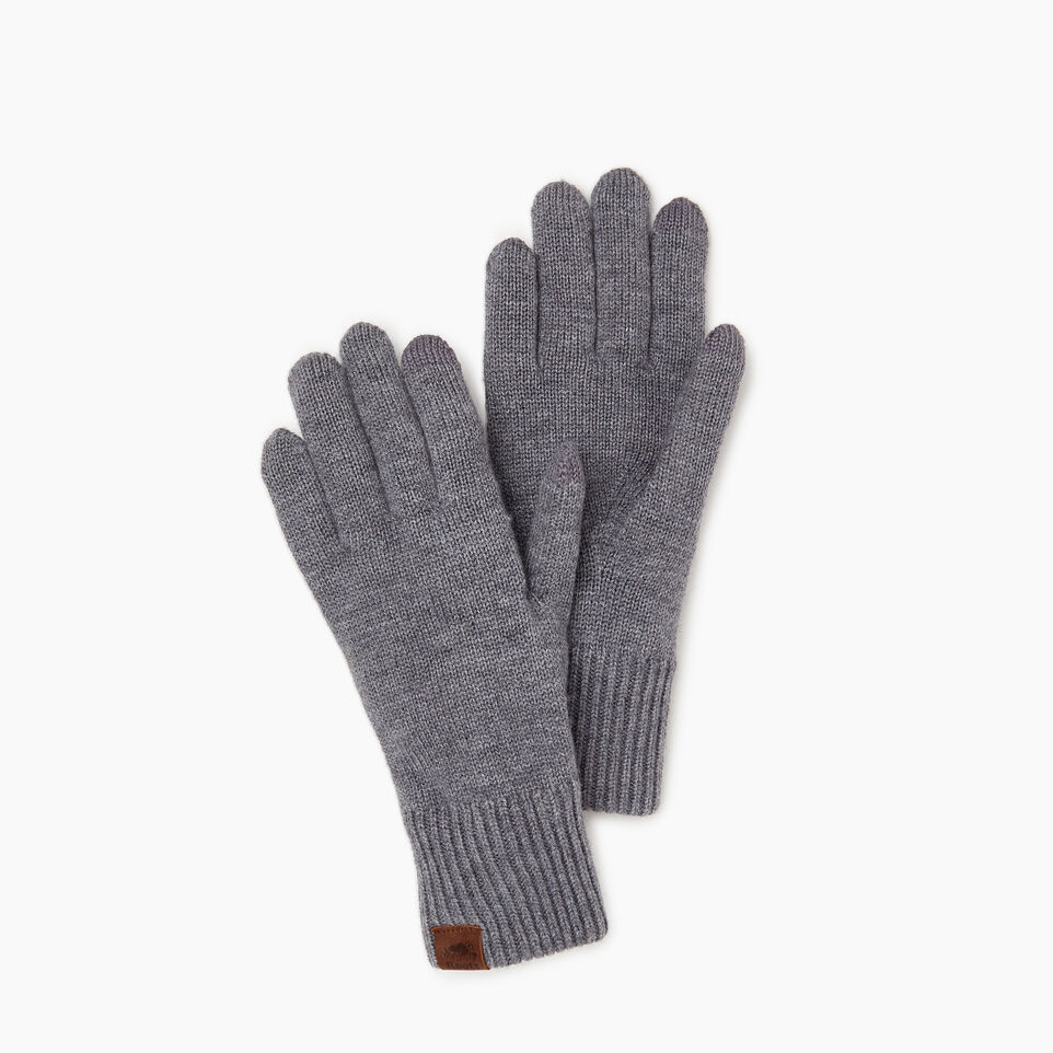 Roots-Women Categories-Robson Texting Glove-Grey Mix-A