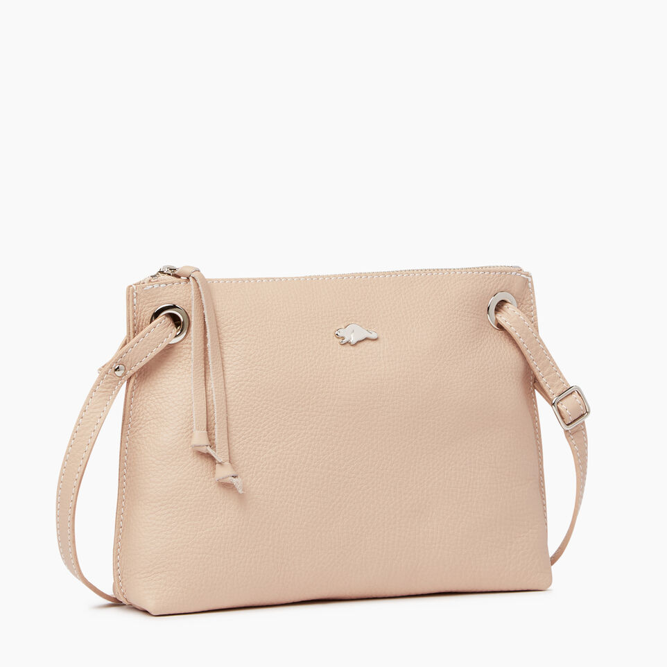 Roots-Leather  Handcrafted By Us Our Favourite New Arrivals-Edie Bag-Pink Mist-A