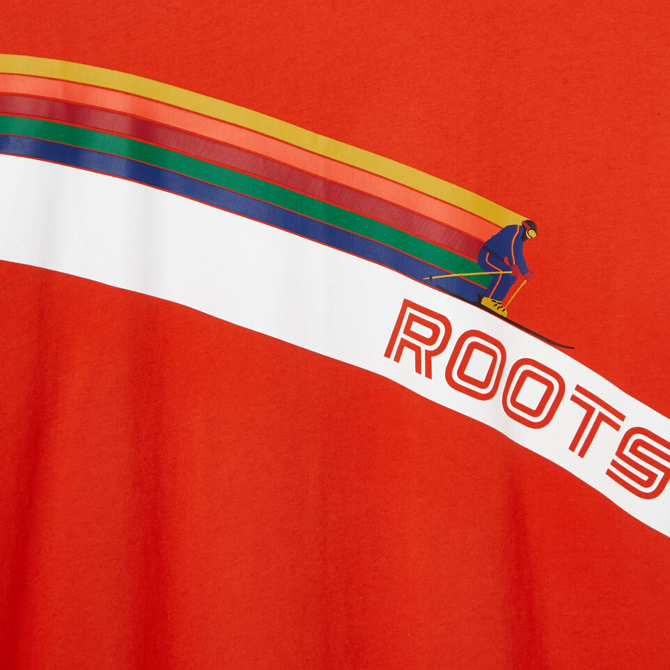 Roots-Men Our Favourite New Arrivals-Mens Roots Ski T-shirt-Red Clay-D